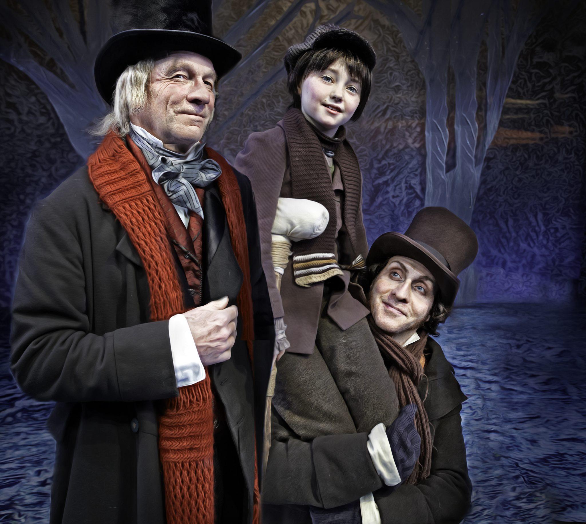 Scrooge Tim & Cratchet