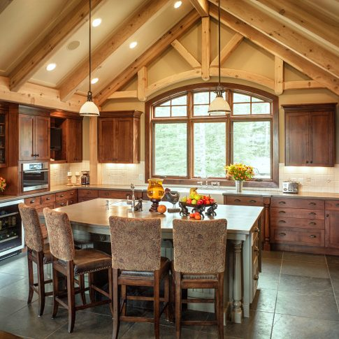 Kitchen Country Home Interior - Architecture - Harderlee