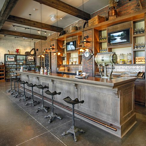 Tasting Bar Interior - Architecture - Harderlee
