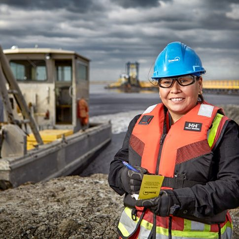 Aboriginal Women Oil & Gas - Industrial - Harderlee