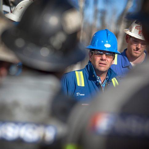Safety Meeting Oil & Gas - Industrial - Harderlee