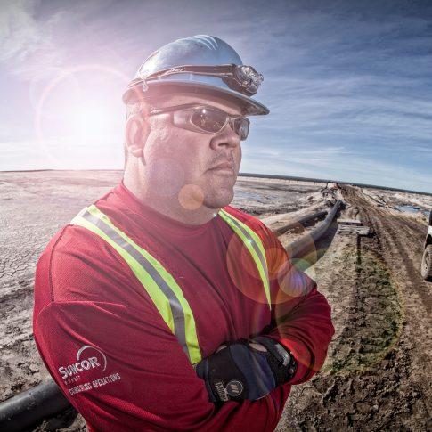 Aboriginal Employee Oil Sands - Industrial - Harderlee