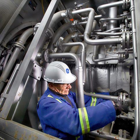 Steam Turbine - Industrial - Harderlee