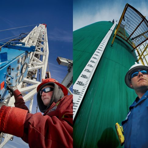 Rig Plant workers Oil & Gas - Industrial - Harderlee