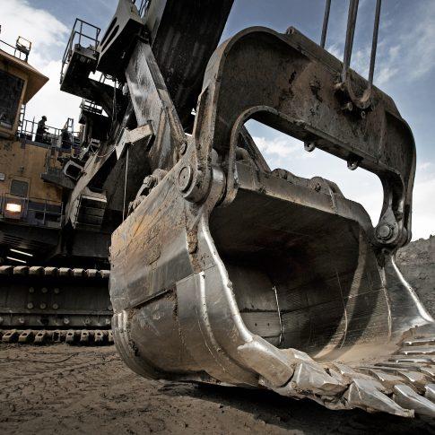 Oil Sands, Tar Sands, Shovel - Industrial -Harderlee