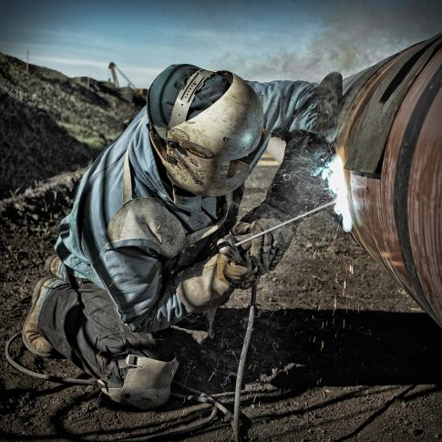 Welder Pipeline Construction - Industrial - Harderlee