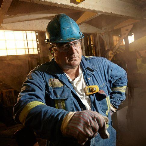 Oil Sands Worker - Industrial - Harderlee