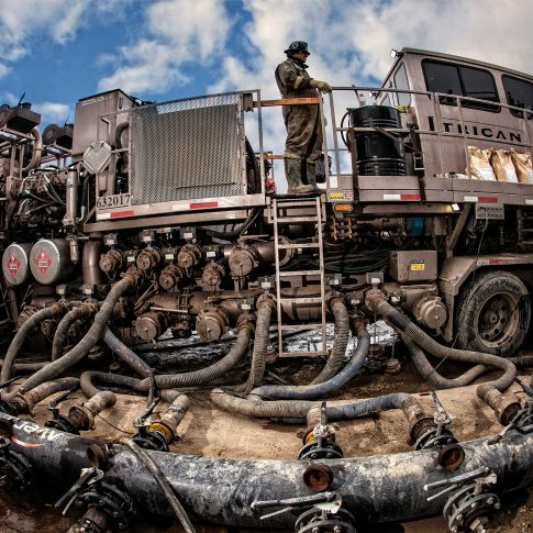 Fracturing Oil & Gas - Industry - Harderlee