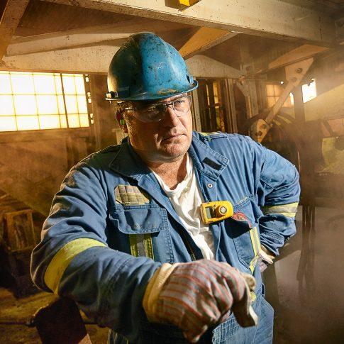 Industry Man - Portrait - Harderlee