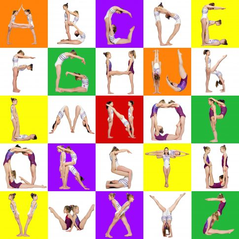 body letters - alphabet - personal - harderlee