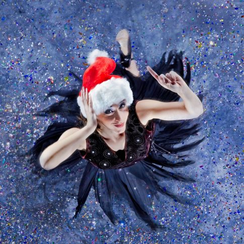 christmas card dancing - performing arts - harderlee