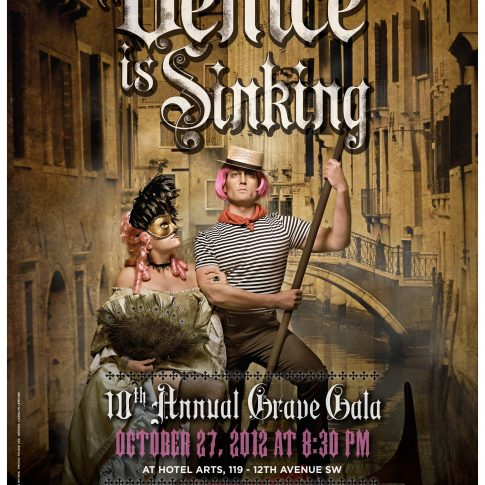 Venice poster - editorial - harderlee