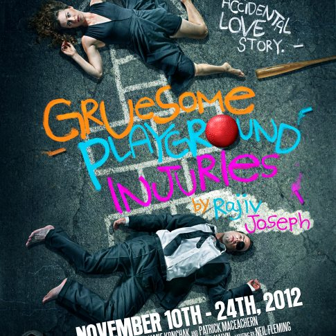 Gruesome Ground Zero Theatre - theatre posters - editorial - harderlee