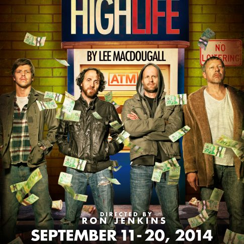 Highlife Ground Zero Theatre - theatre posters - editorial - harderlee