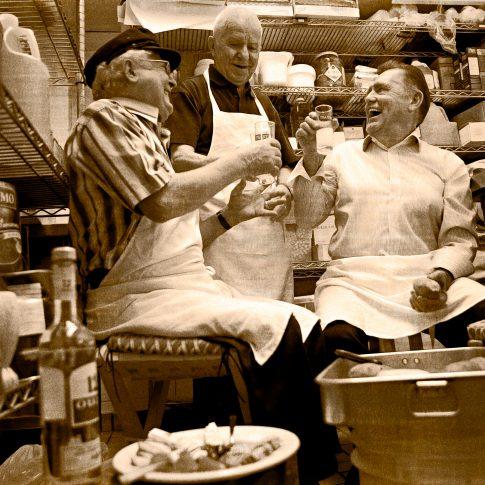 greek old guys in restaurant - commercial - harderlee