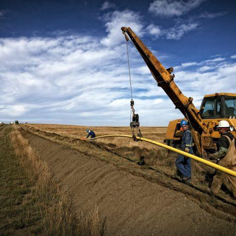 Pipeline construction - Industrial - Harderlee