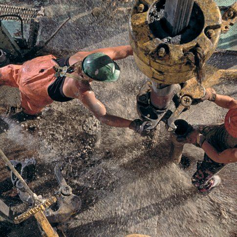 Drilling Rig Floor - Industrial - Harderlee