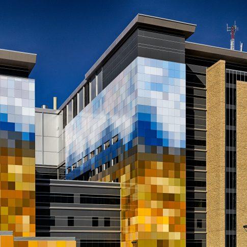 Hospital Exterior - architecture - Harderlee