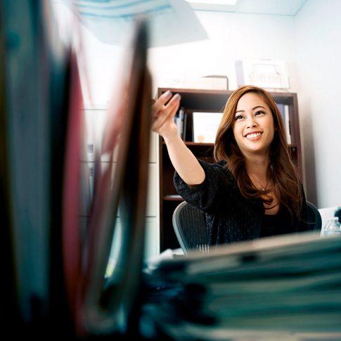 office girl - commercial - harderlee