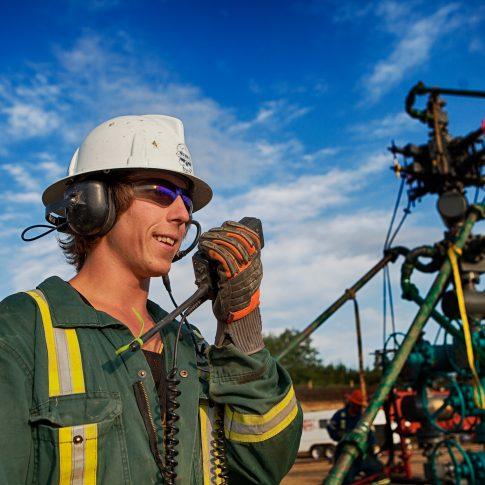Frac worker - Industrial - Harderlee