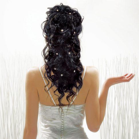 wedding hair style - editorial - harderlee