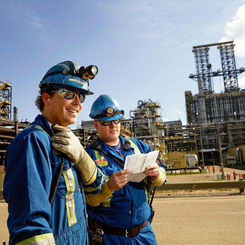 Oil field workers - Industrial - hHarderlee