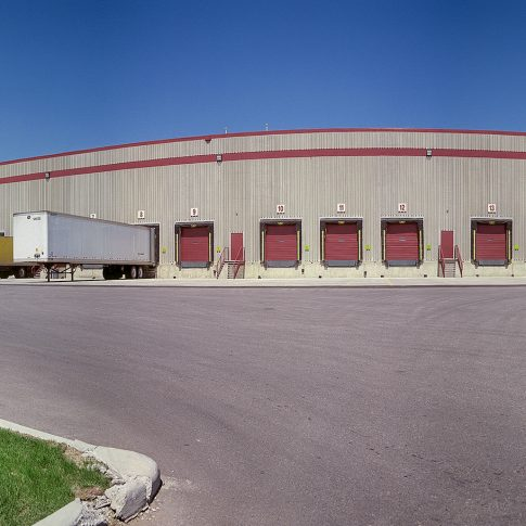 Warehouse exterior - architecture - Harderlee
