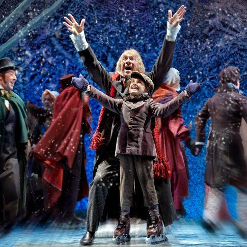 christmas carol theatre - performing arts - harderlee