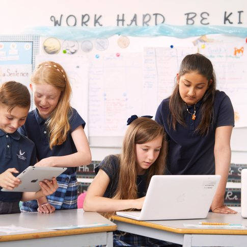 kids in the classroom with laptops - commercial - harderlee